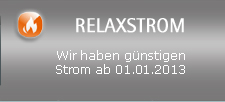 Relaxstrom: ab 01.01.2013